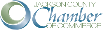 jackson county chamber of commerce blue logo