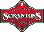 scranton's restaurant and catering red logo
