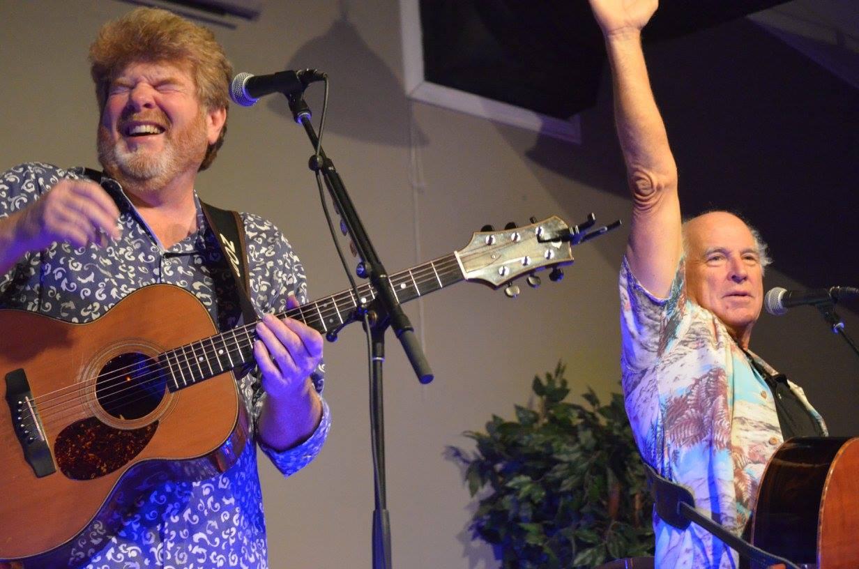 Mac McAnally & Jimmy Buffett perform live at Grand Mag Music
